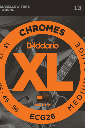 d'addario chromes ecg26 filet plat 13-56