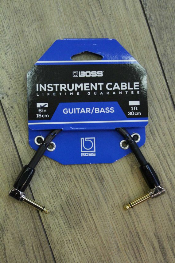 boss cable patch 15 cm coude-coude