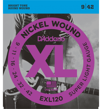 d'addario exl120 super light 09-42