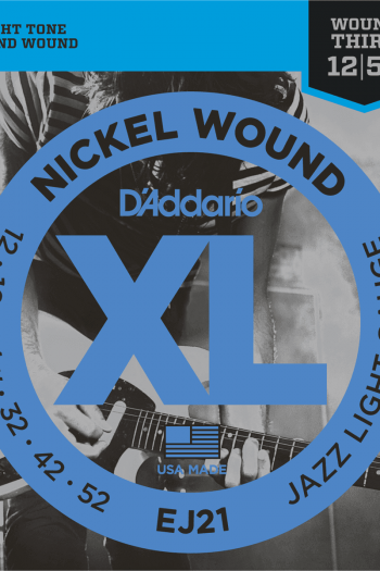 d'addario ej21 jazz light 12-52