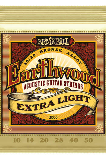 ernie ball 2006 earthwood extra light 10-50
