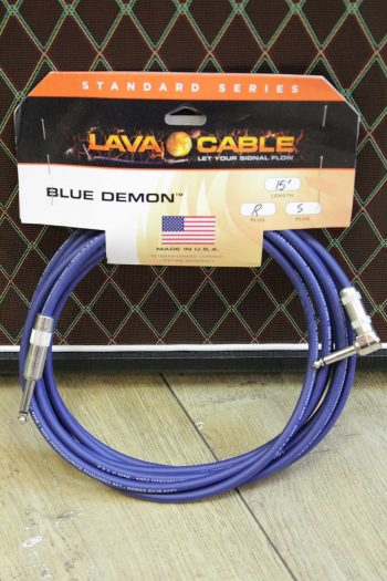 lava cable blue demon 4,5m droit coude