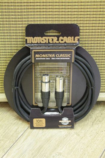 monster cable xlr 3m clas-m-10